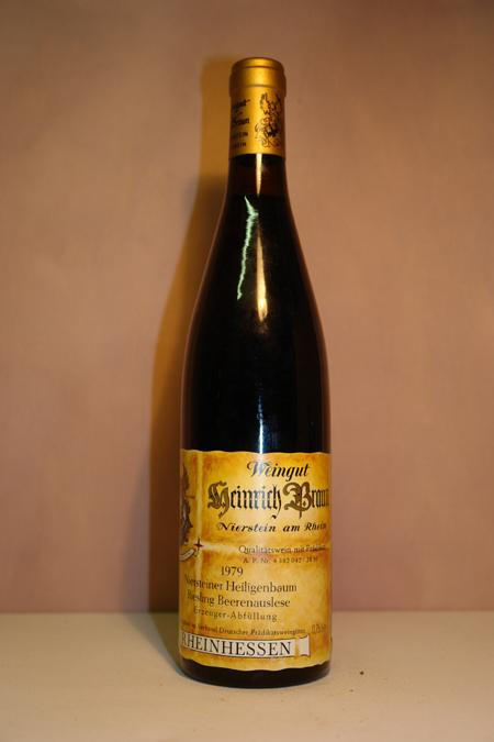 Weingut Heinrich Braun - Niersteiner Heiligenbaum Riesling