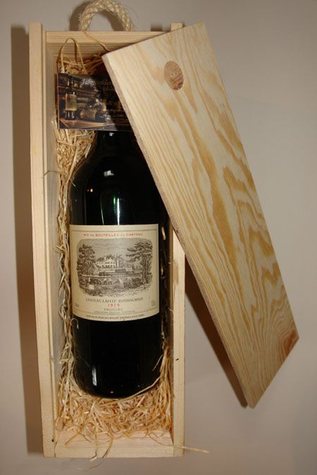 Wooden Present box for 1 bottle MAGNUM