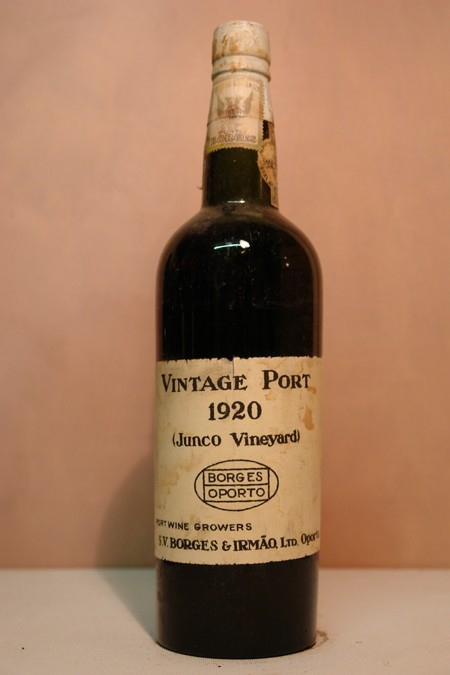 Borges Vintage Port 'Junco Vineyard' 1920