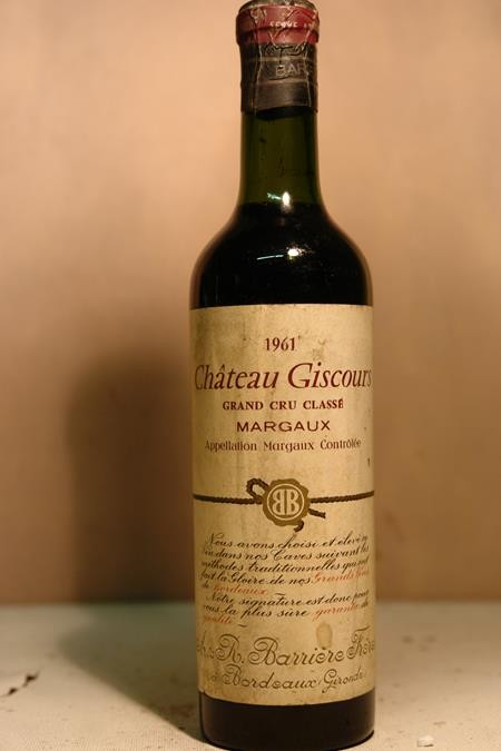 Château Giscours Margaux 1961 375ml
