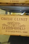 Château Clinet Pomerol 1987 OWC 12 bottles 9000ml case