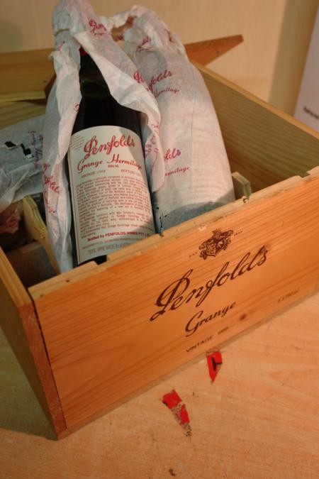 Penfolds Grange 1989 6 bottles original OWC 4500ml