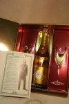 Louis Roederer Cristal brut 1985 Original Case with 2 glasses OC