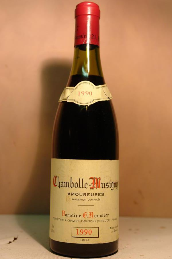 Domaine G. Roumier - Chambolle-Musigny 1er Cru 'Les Amoureuses' 1990